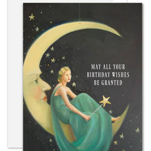Magical Wishes Birthday Card