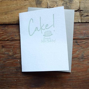 Cake! Birthday Card