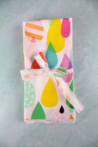 April Showers Napkins - (Set of 4)