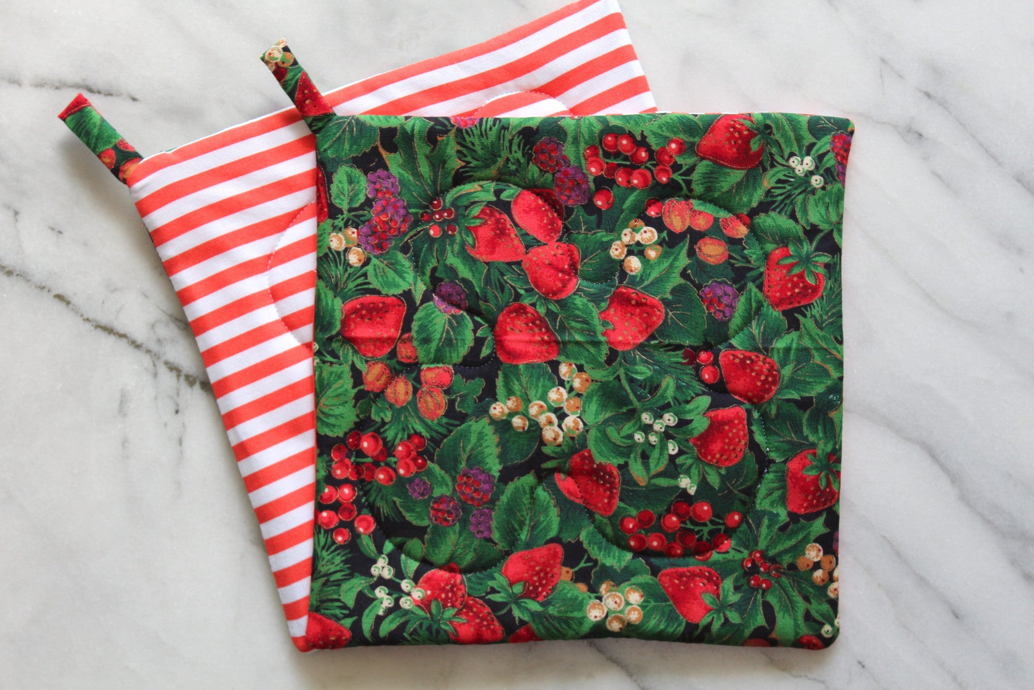 Berry Natural Potholder