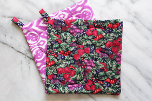 Berry Season Potholder