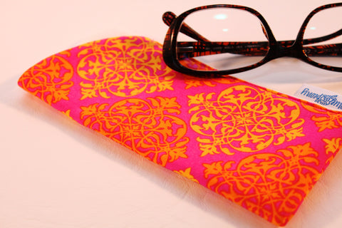 Best Friend (Orange) Sunglass Case