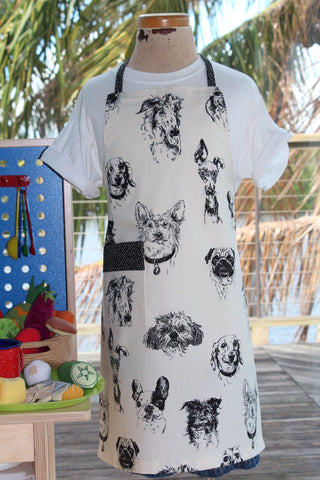 Bow Wow Wow Kid's Apron
