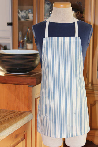 Canvas Stripe Kid's Apron