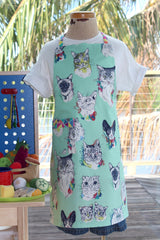 Cat's Meow Kid's Apron