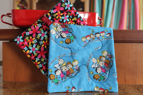 Charlie Brown Potholder