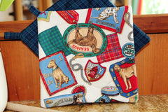Show Dogs Potholder - Cream