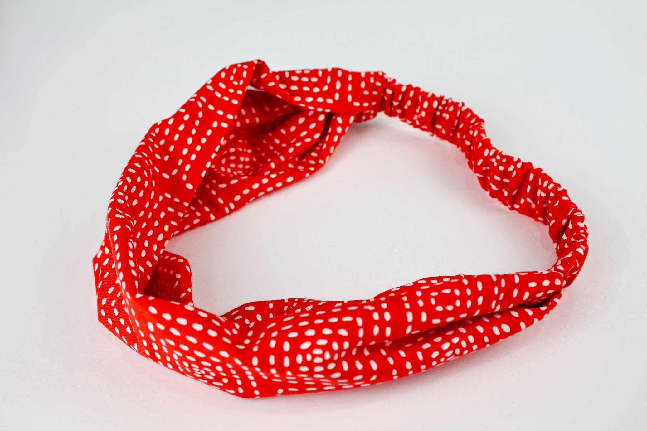 Crimson Stitch Headband