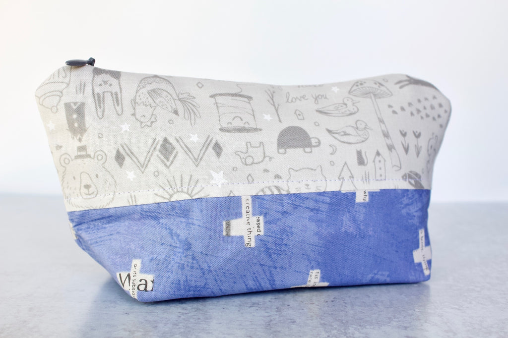 Dream Sequence Zippered Pouch
