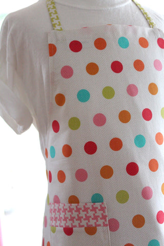 Candy Buttons Kid's Apron