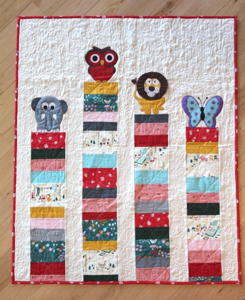 Everyday Animals Organic Quilt