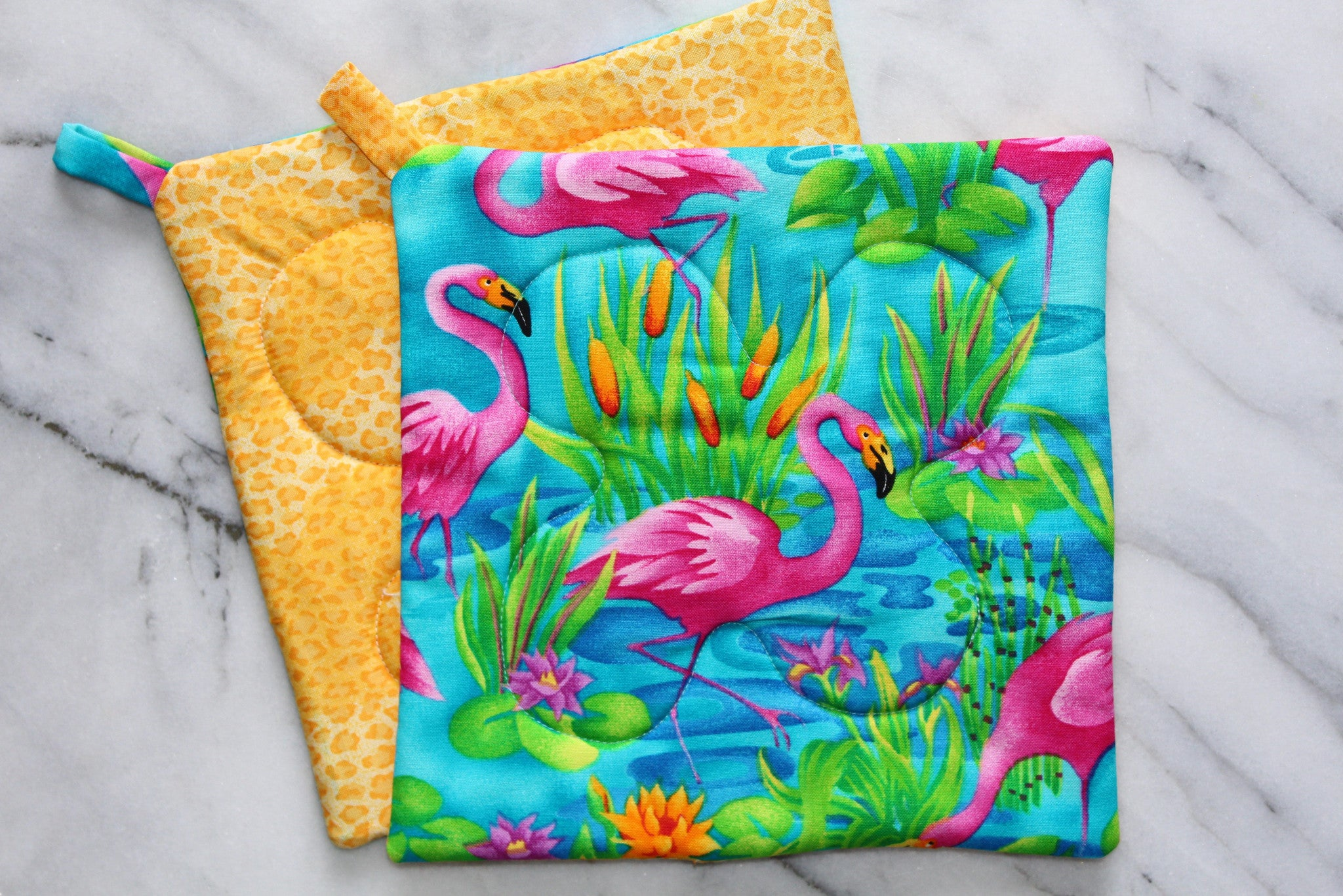 Flamingo Potholder (more colors available)