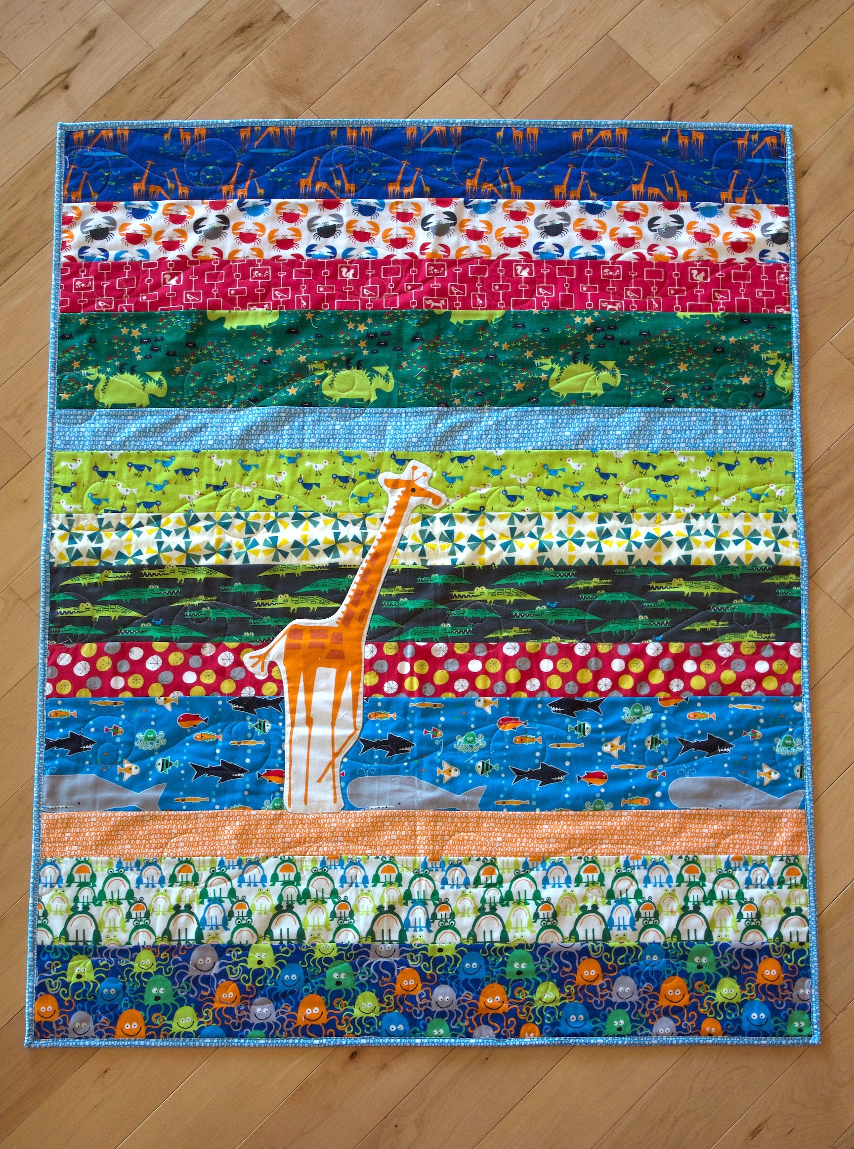 The Giraffe Organic Quilt