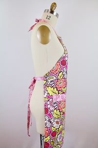 Gracie Apron (Orchid) - The Art Gallery Collection