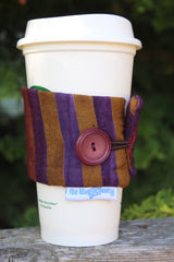 Grape Ombre Coffee Cozy
