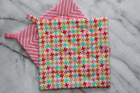 Houndstooth Diamond Potholder (more colors available)