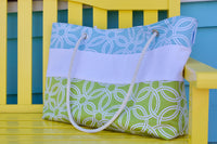 The Carryall (with style) Tote Bag - Surf n' Turf