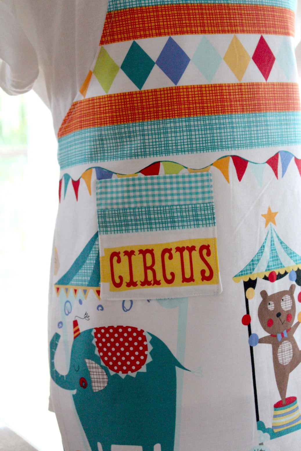 Circus Train Kid's Apron