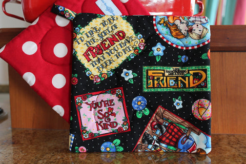 Best Friends Potholder