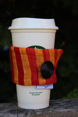 Melon Ombre Coffee Cozy