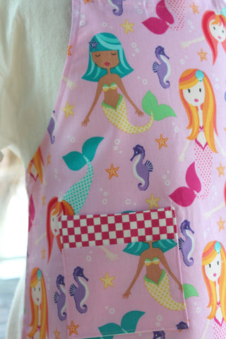 Mermaid Play Kid's Apron