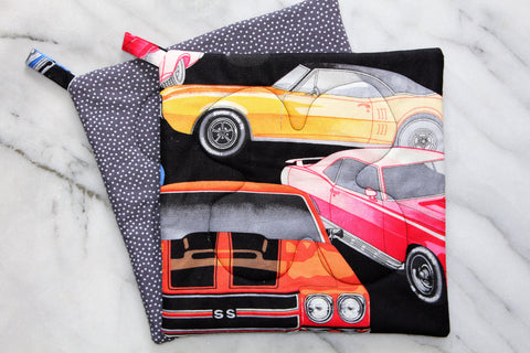Muscle Cars Potholder