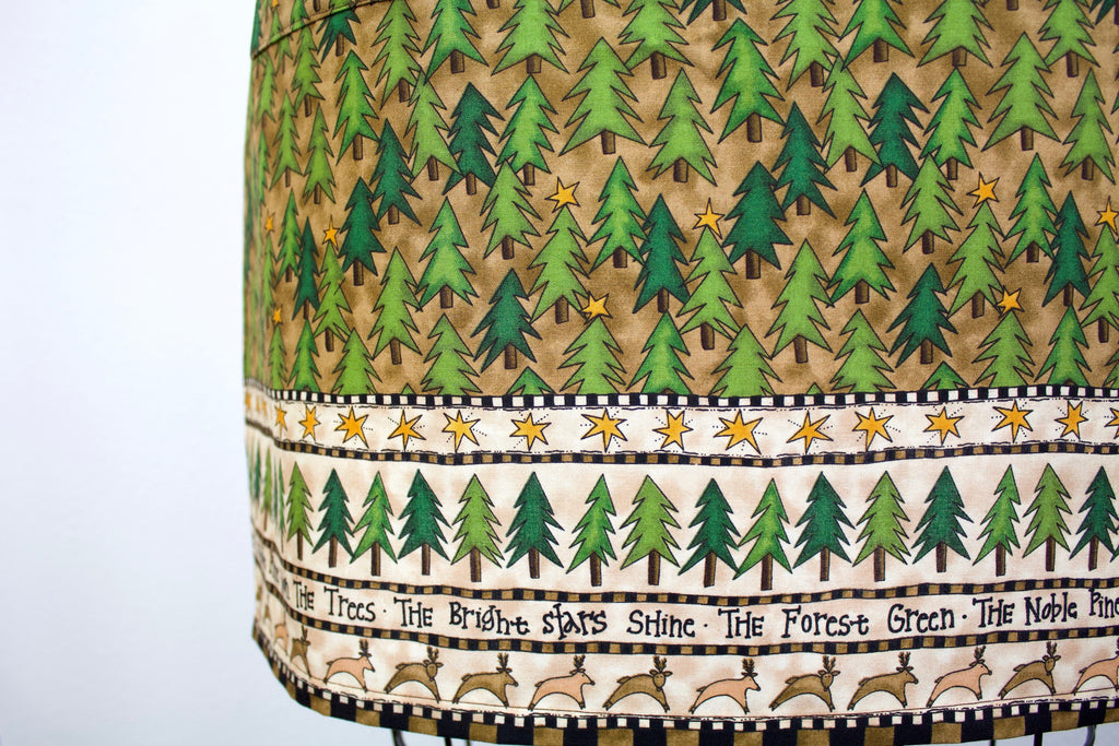 The Noble Pine Christmas Apron