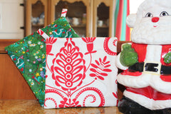 O Christmas Tree Potholder