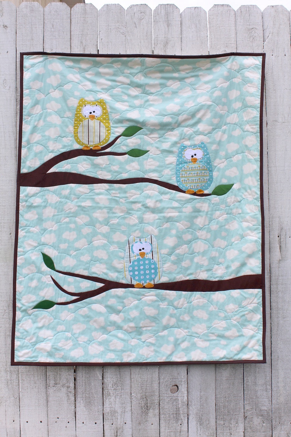 Out on a Limb Organic Quilt