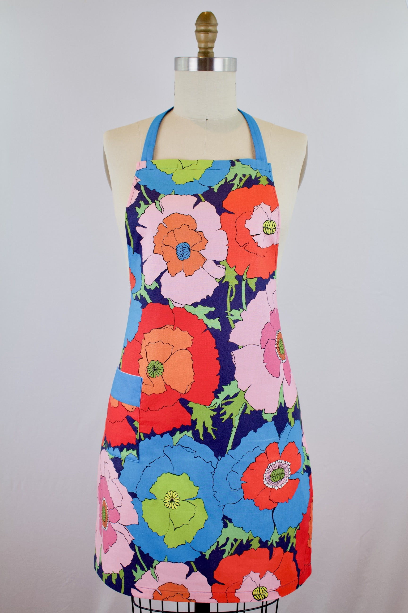 Poppy Fields Apron - Blush