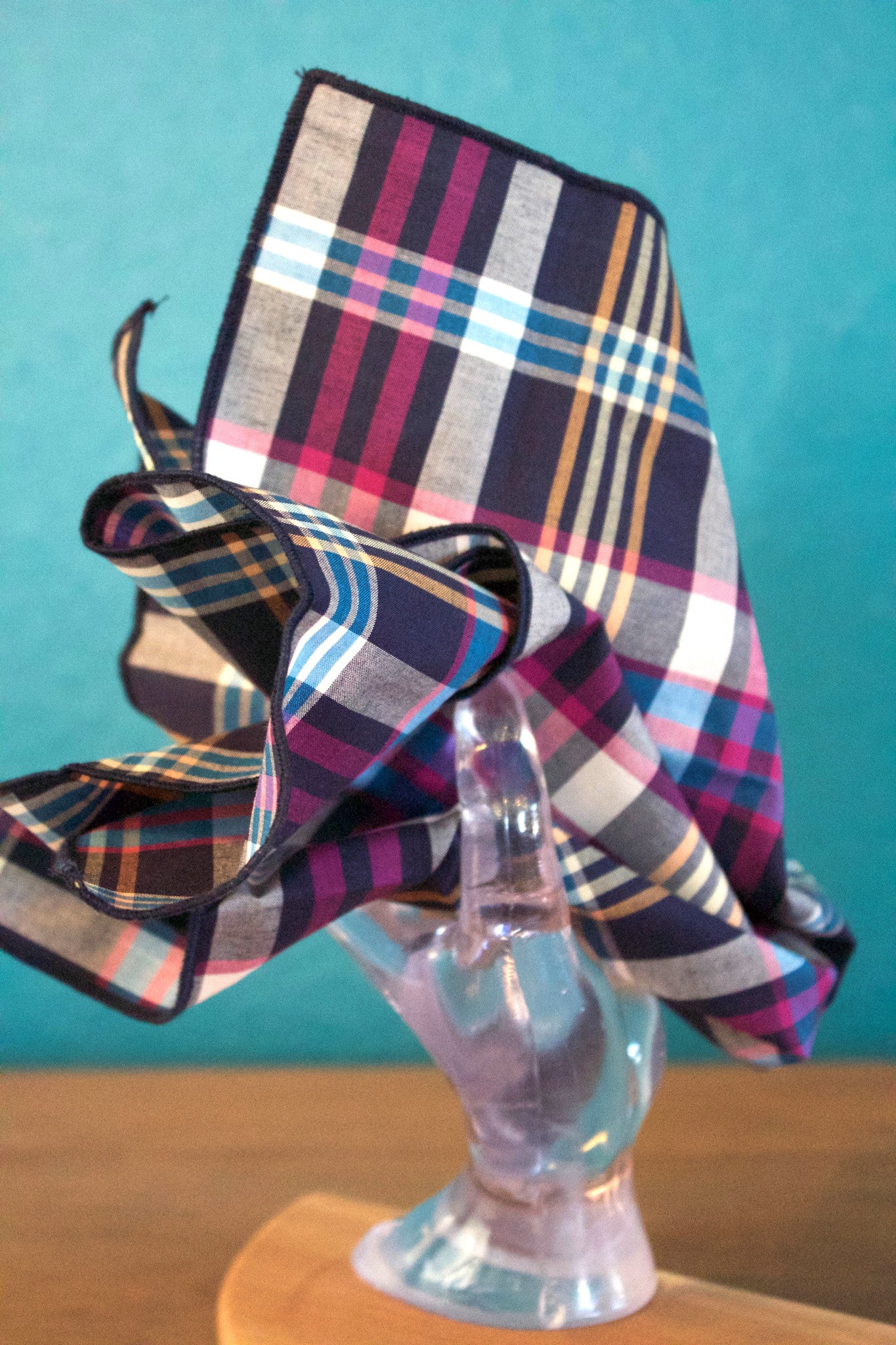 Plaids and Stripes Handkerchief Set