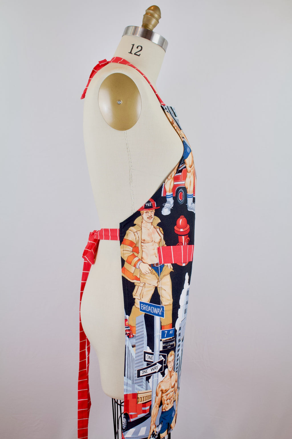 Ready for Action Fireman Apron
