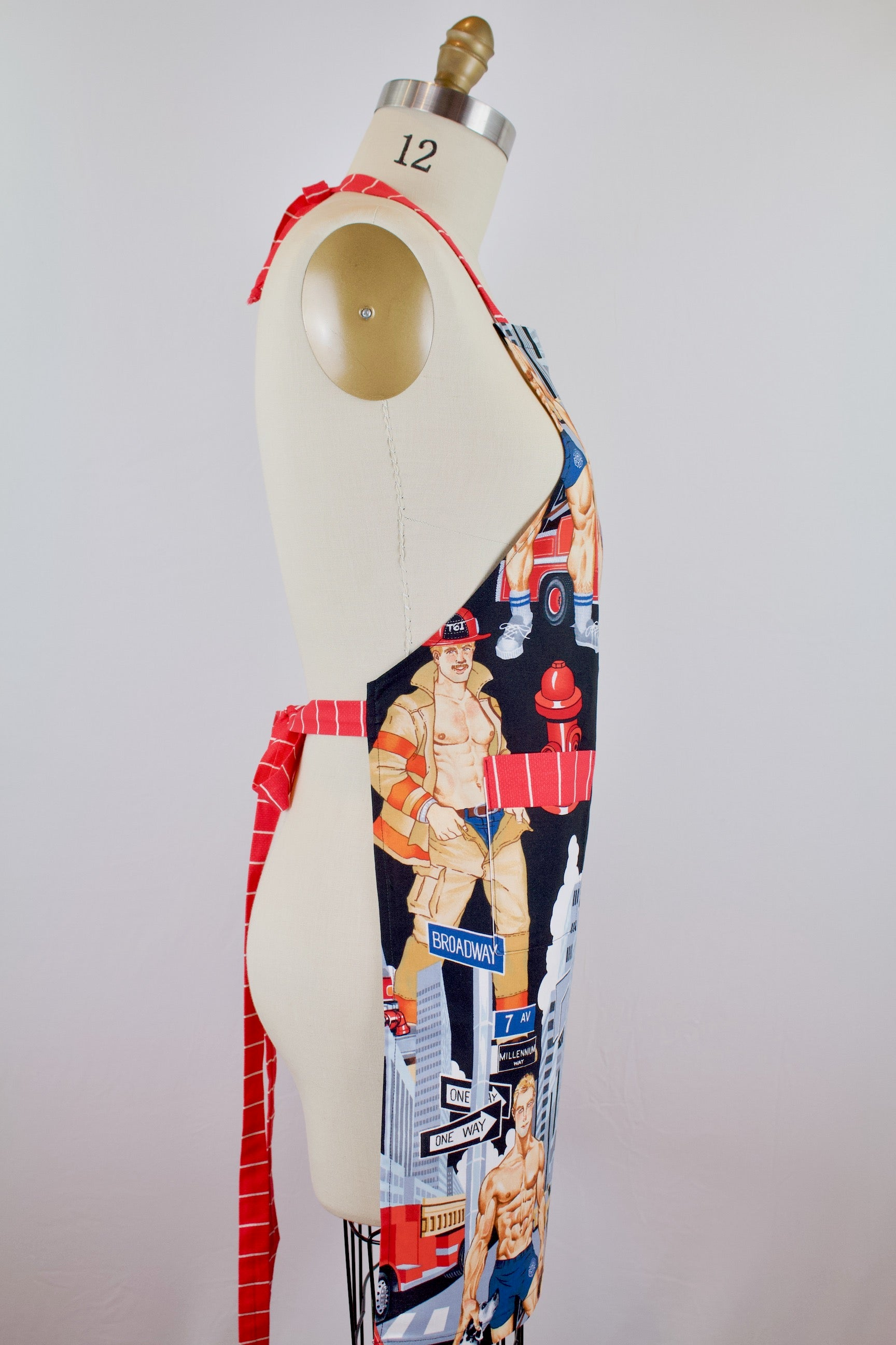 Ready for Action Fireman Apron – The Blue Peony