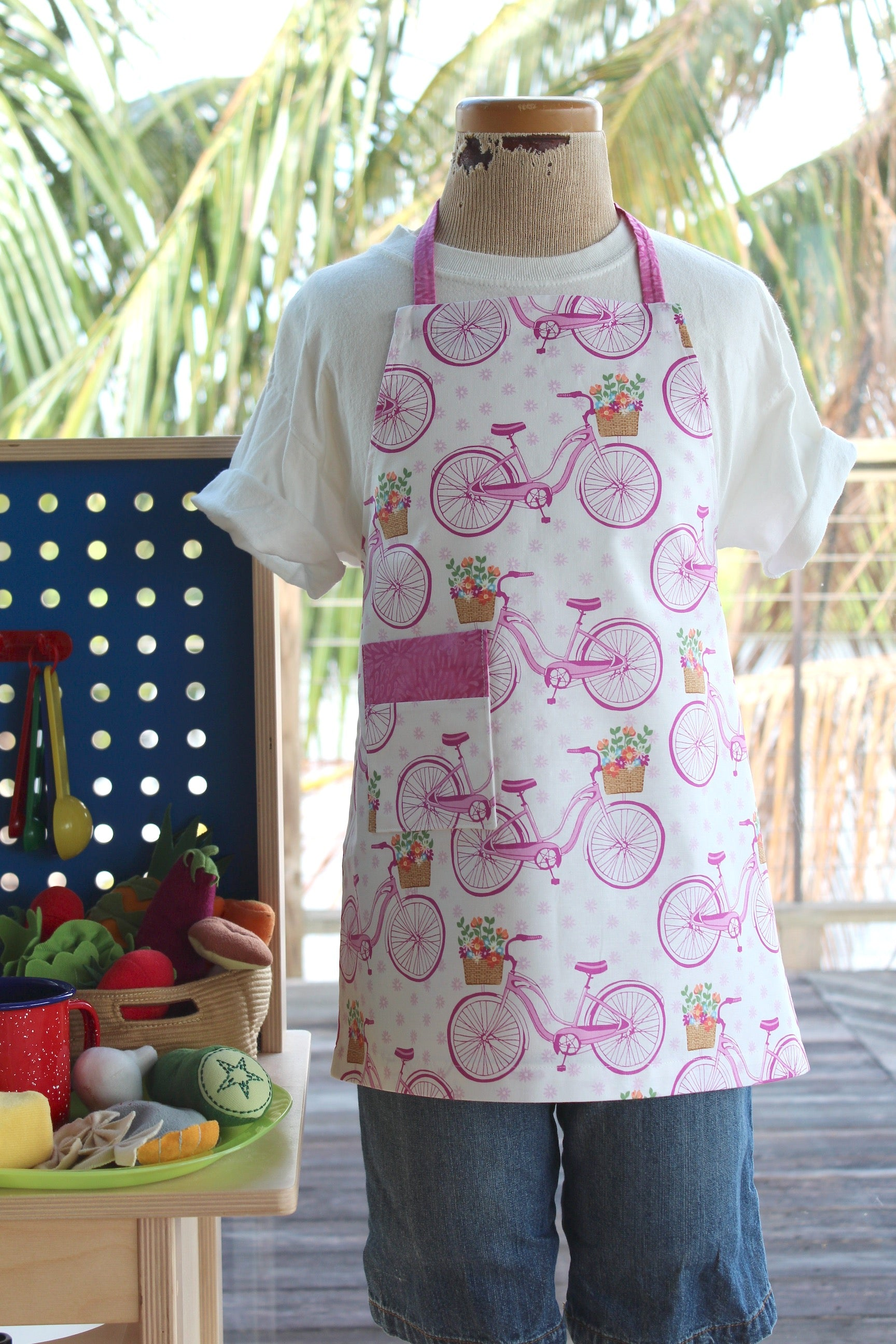 Saturday Morning Kid's Apron