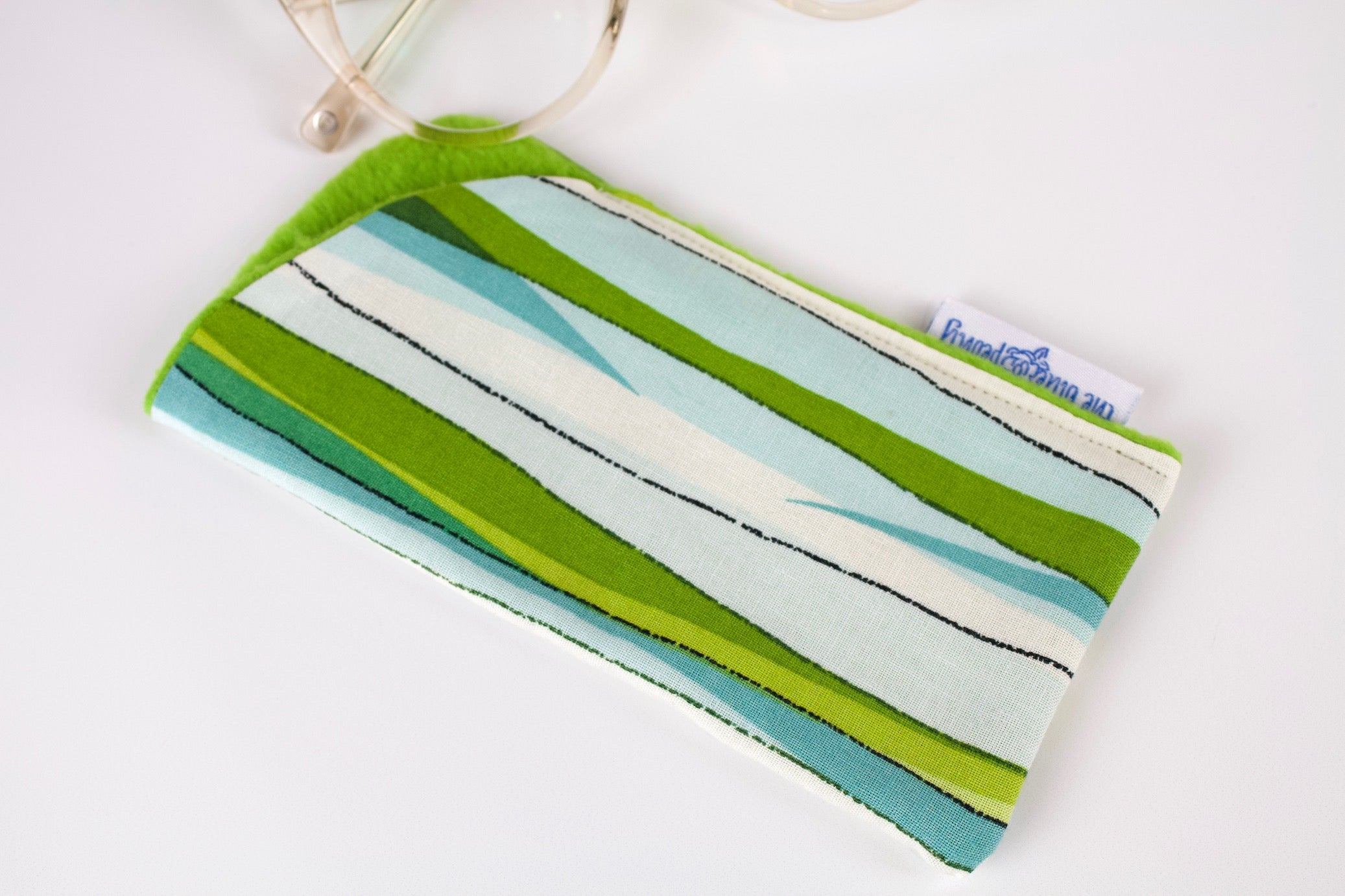 Seagrass Stripes Glasses Case