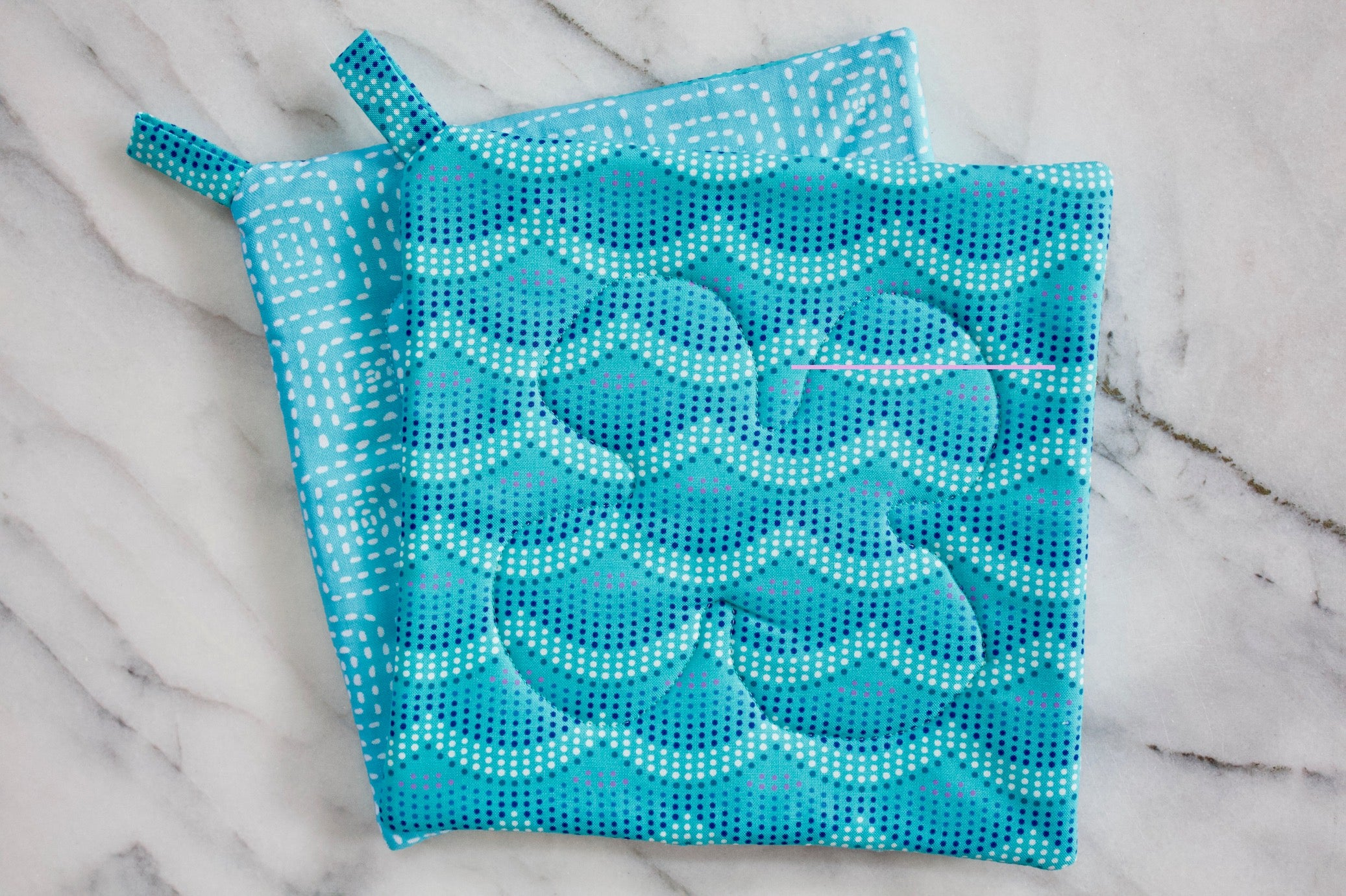 Seaside Potholder