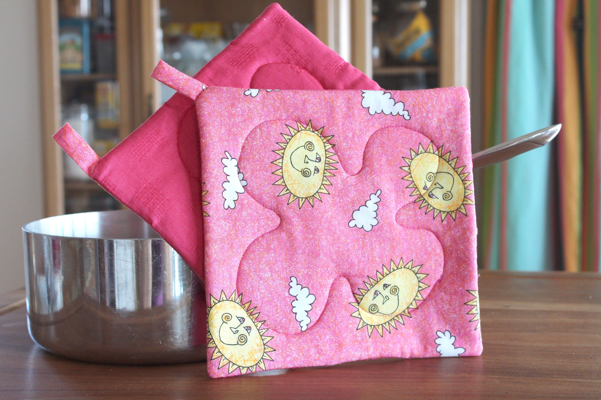 Share a Little Sunshine Potholder