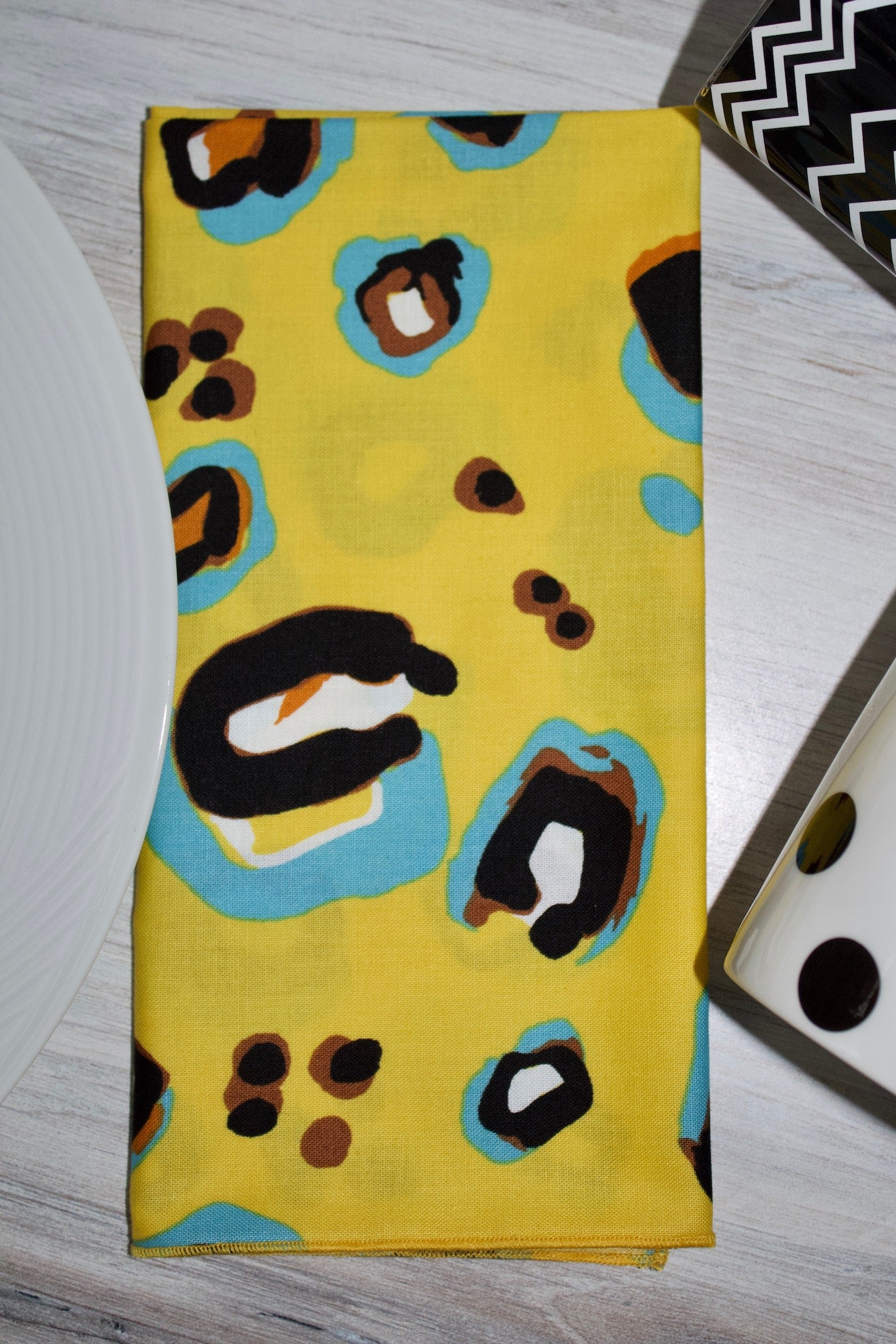 Spots Napkins - (Set of 4)