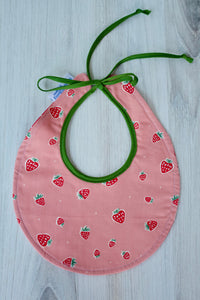 Strawberry (Pink) Bib