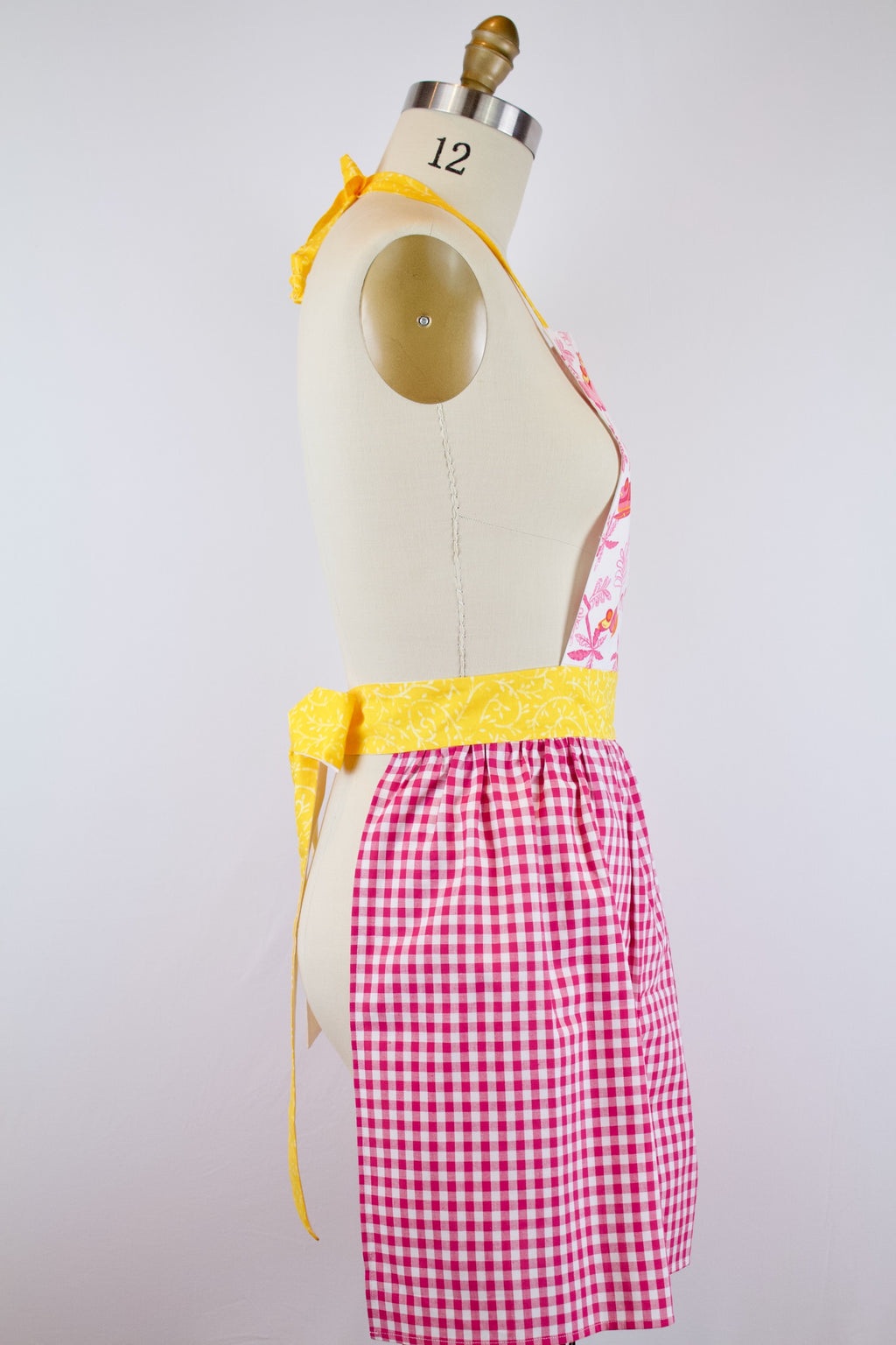 Surfs Up Summer Gingham Apron