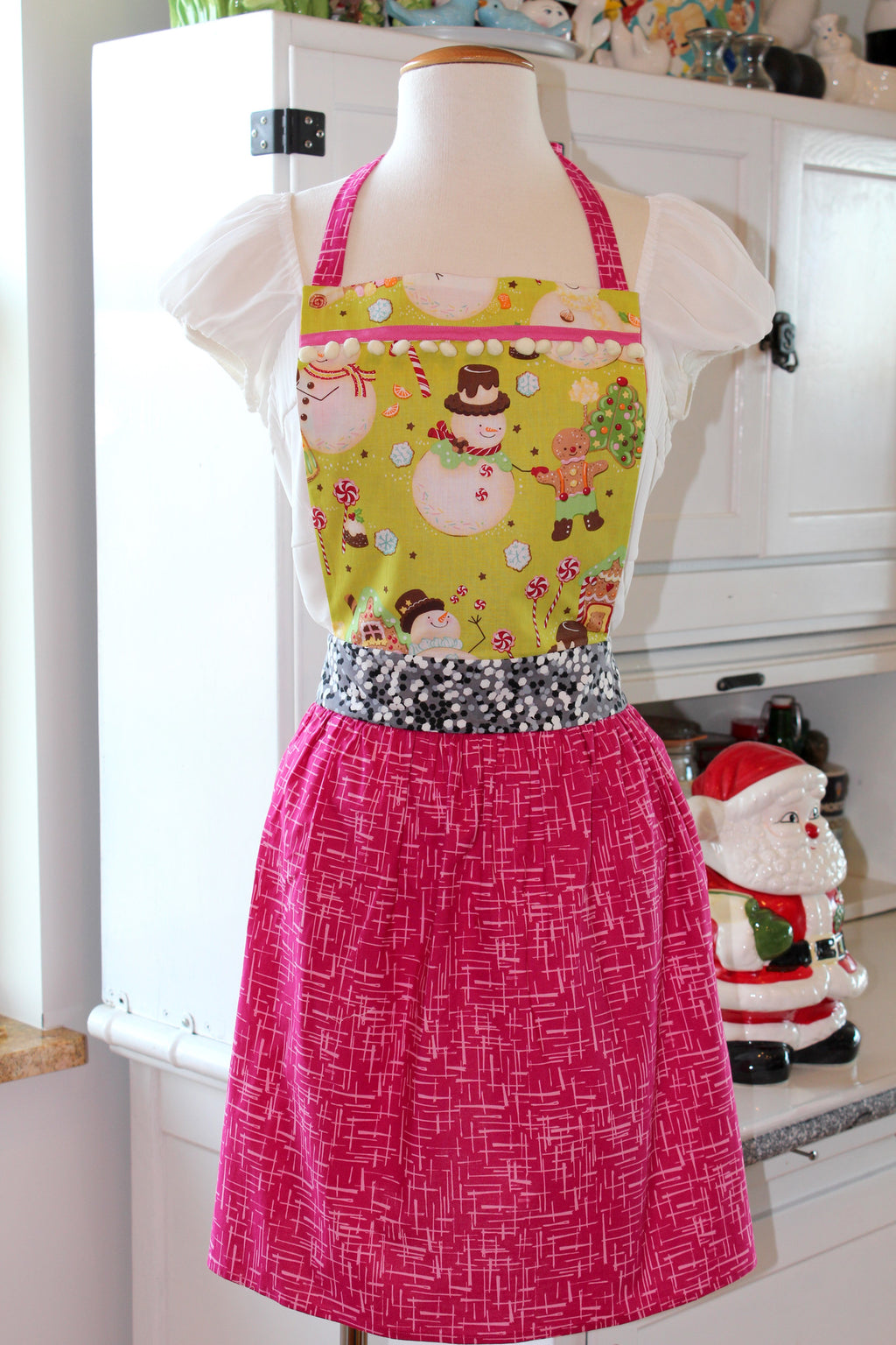 Sweet Gingerbread Dreams Holiday Apron