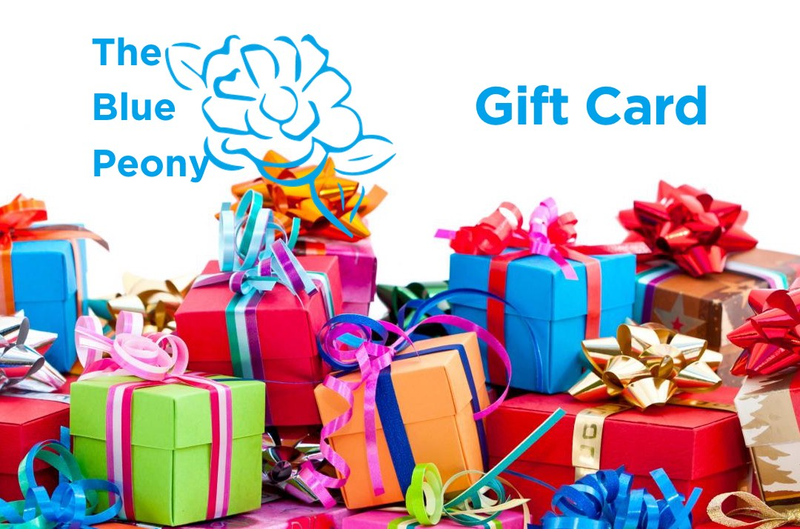 The Blue Peony Gift Card