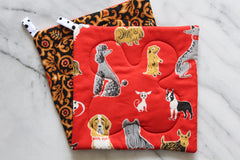 Tammis Dogs Potholder