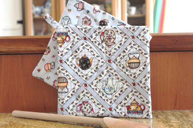 Tea Time Potholder
