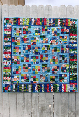Wild and Free Organic Quilt - Zoo