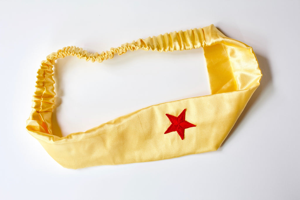 Wonder Woman Headband in Yellow