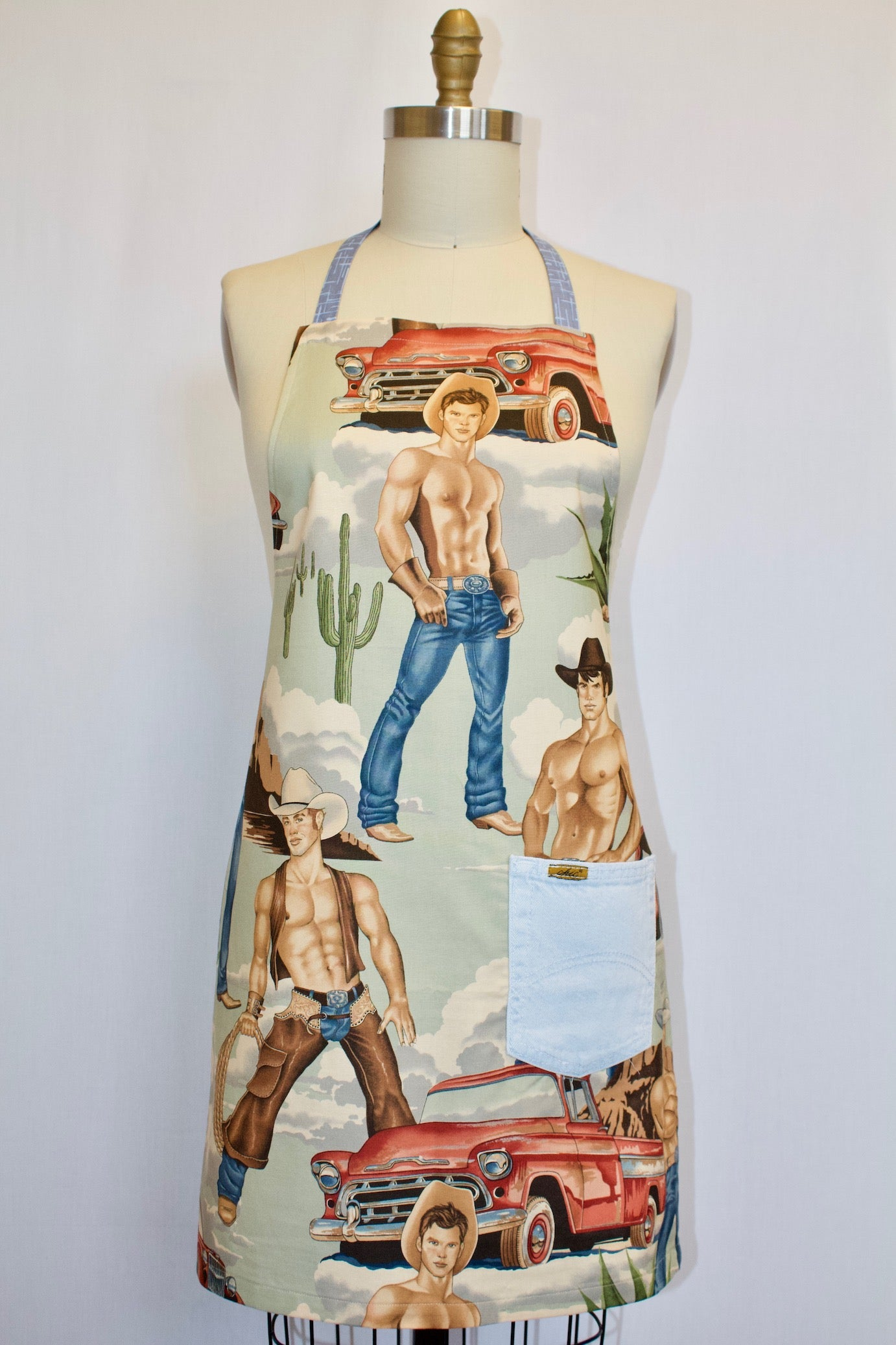 Wranglers and Pickups Apron
