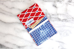 Caught Mini Wallet - Red
