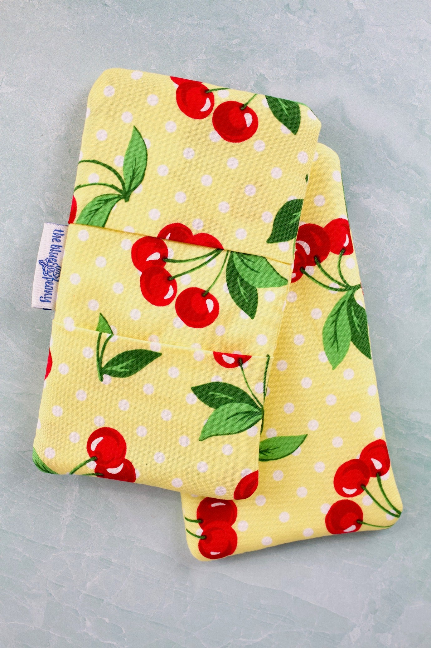 Cherry Dot Mini Potholders