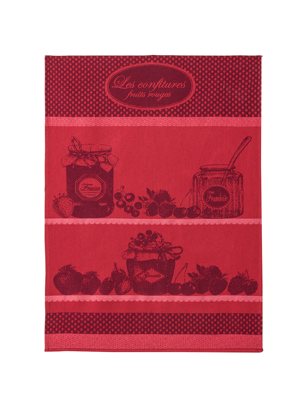 Confiture Fruits Rouges French Dish Towel